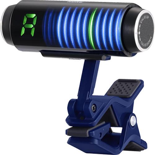 Korg Sledgehammer Custom 100 Clip-On Guitar & Bass Tuner (Blue)