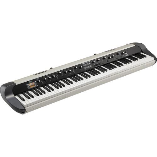 Korg SV-2S 88-Key Vintage Stage Piano with Speaker System (Creme)