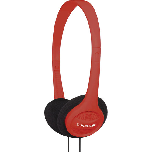 Koss KPH7 On-Ear Headphones (Red)