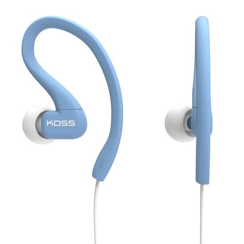 Koss KSC32 - FitClips - Fitness Earphones for Women (Blue)