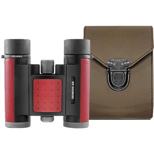 Kowa 8x22 Genesis 22 PROMINAR XD Special Edition Binocular (Red)