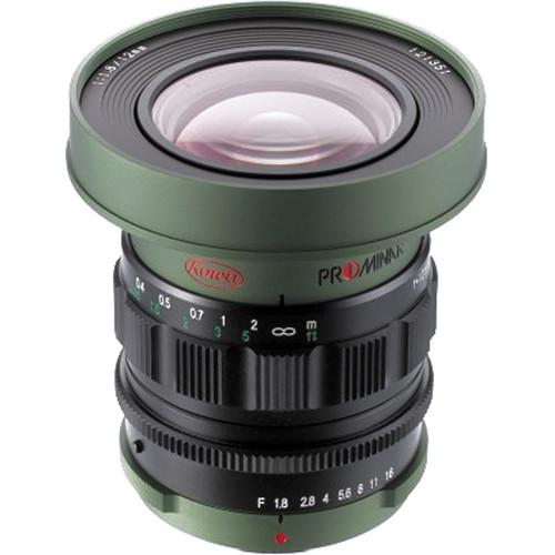 Kowa PROMINAR MFT 12mm f/1.8 Lens (Green)