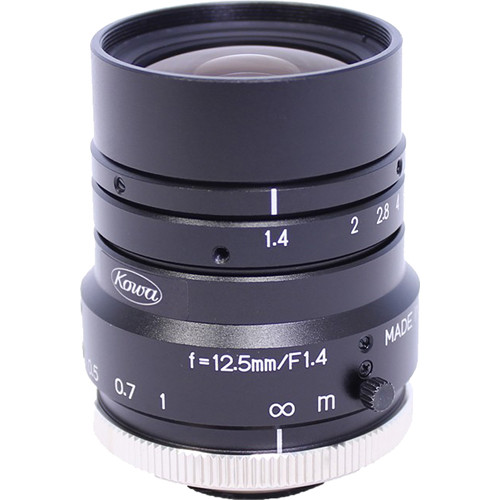 Kowa LM12HC C-Mount 12.5mm Fixed Lens