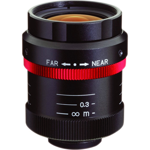 Kowa HC-V Series C-Mount 12.5mm f/1.4-8 Ruggedized Megapixel Fixed Lens
