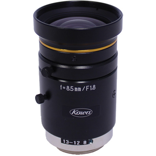 "Kowa C-Mount 12mm f/1.8-11 2/3"" 10MP JC10M Series Fixed Lens"