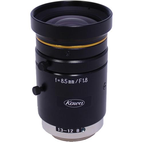 "Kowa C-Mount 12mm f/1.8-11 2/3"" 10MP JC10M Series Fixed Lens"