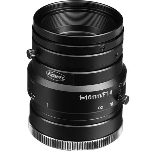 Kowa C-Mount 16.0mm F1.4 HC Series Wide Angle Lens