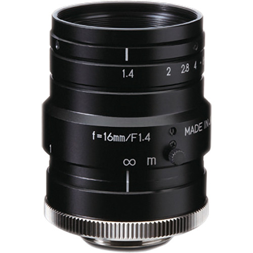 "Kowa C-Mount 16mm f/1.4 1"" Mp Short Wavelength Infrared Lens"