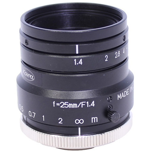 Kowa LM25HC C-Mount 25mm Fixed Lens