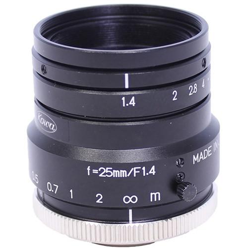 Kowa C-Mount 25mm Fixed Lens