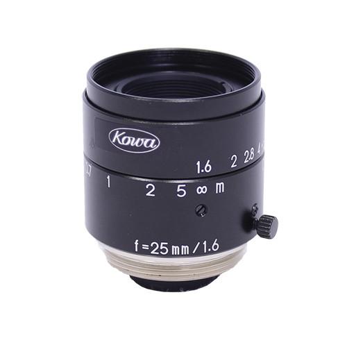 "Kowa C-Mount 25mm f/1.6-16 2/3"" JC Series Fixed Lens"