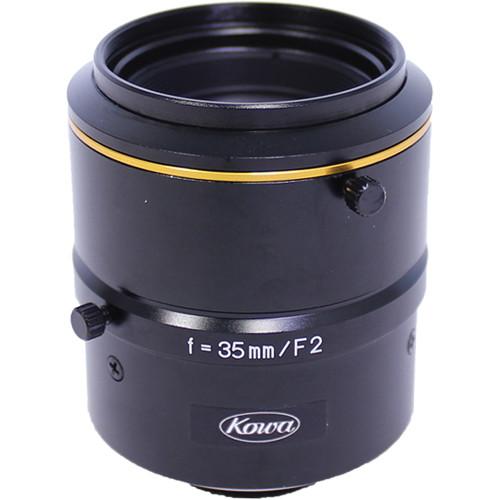 "Kowa C-Mount 35mm f/2.0-16 2/3"" 10MP JC10M Series Fixed Lens"