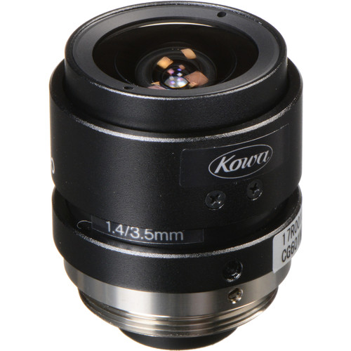 Kowa LM4NCL C-Mount 3.5mm Fixed Focal Lens