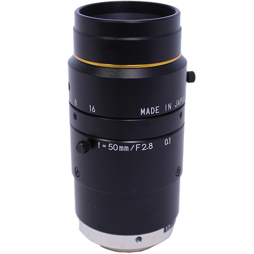 "Kowa C-Mount 50mm f/2.8-16 2/3"" 10MP JC10M Series Fixed Lens"
