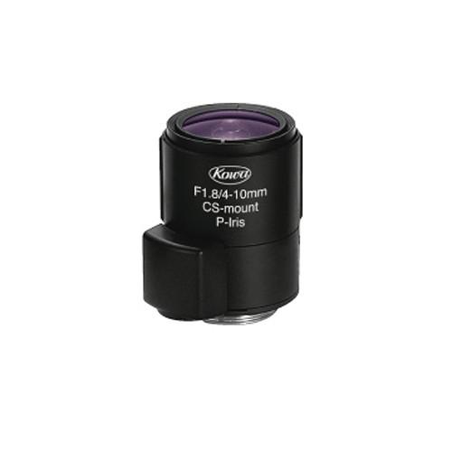 "Kowa LMVZ41 - ½"" 4 to 10mm Varifocal Manual Iris Lens (Black)"