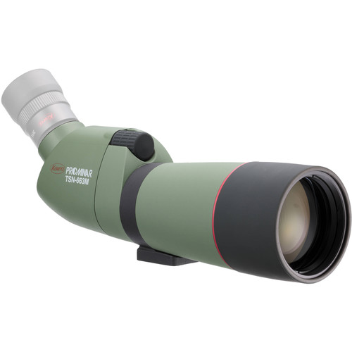 Kowa TSN-663M 66mm Prominar XD Spotting Scope (Angled Viewing, Green)