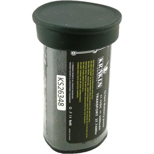 Kraken Sports Rechargeable Li-Ion Battery for Hydra 2000\3500\2800\3500 Underwater Video Light (12.6V, 3400mAh)