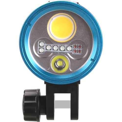 Kraken Sports Hydra 3500 WSRU Underwater Video Light (3500 Lumens)