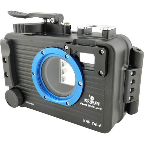 Kraken Sports Aluminum Housing for Olympus TG-6 Camera