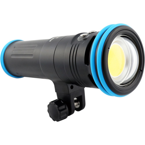Kraken Sports Solar Flare Mini Underwater Video Light 8000 Lumens