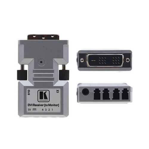 Kramer Dual-Link DVI over Optical Fiber Receiver (1312')