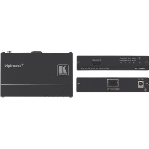 Kramer 670RN HDMI over Fiber Optic Receiver