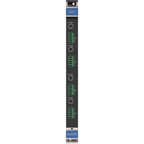 Kramer 4-Output Analog & Digital Audio Card for VS-3232DN Matrix Switcher (F-32)
