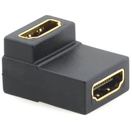 Kramer HDMI Female to HDMI Female Right Angle Adapter