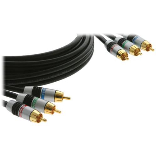 Kramer 3 RCA Male Component Video Cable (6')