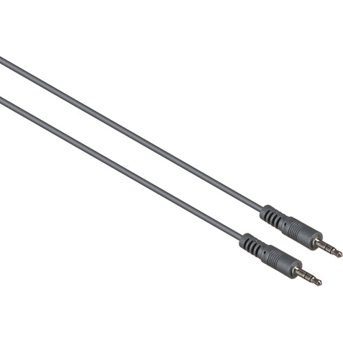 Kramer 3.5mm Male TRS to 3.5mm Male TRS Mini Stereo Audio Cable (6')
