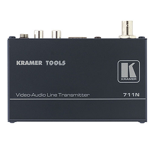 Kramer 711N/712N Composite Video & Stereo Audio Transmitter Receiver Kit