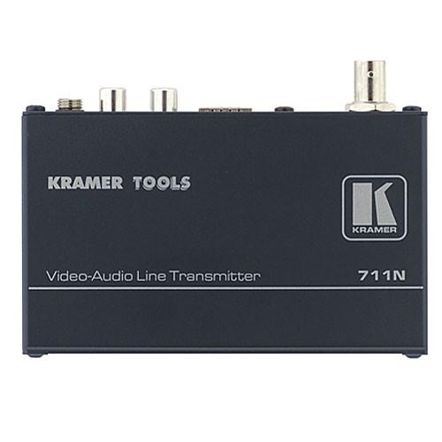 Kramer 711N/712N Composite Video & Stereo Audio Transmitter Receiver Kit