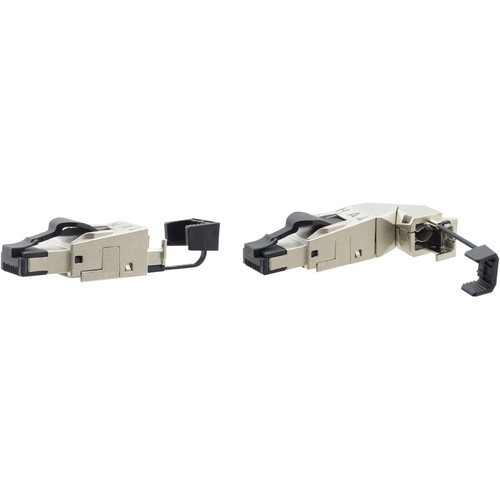 Kramer Field Assembly Shielded RJ-45 Connector for CAT Cable (with Variable Cable Entry)