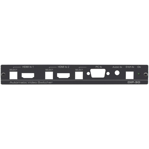 Kramer Front Panel for DIP−30 Automatic Video Switcher