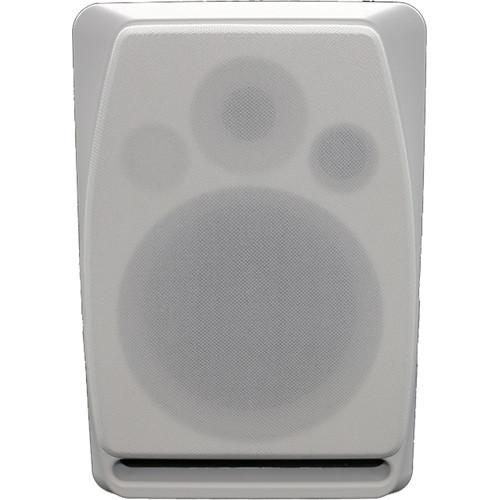 """Kramer Dolev 5 5"""" Two-Way Bi-Amplified Studio-Grade Speaker (White)"""