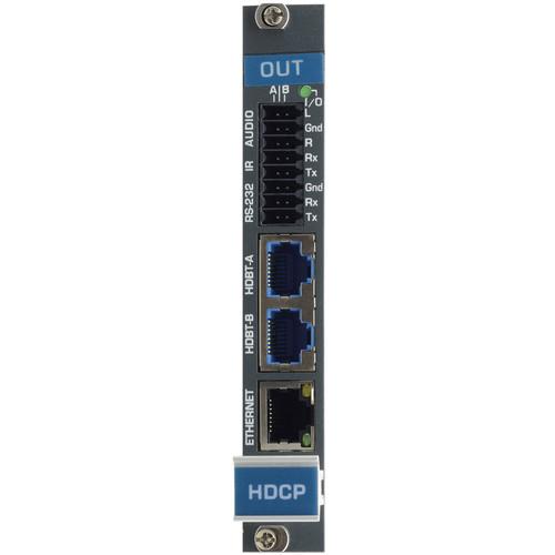 Kramer 2-Channel 4K60 4:2:0 HDMI & Audio HDBaseT Output Card