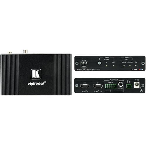 Kramer 4K HDR HDMI Audio De-Embedder