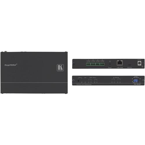 Kramer 4-Port Multifunction Serial/IR & GPIO/Relay PoE Control Gateway