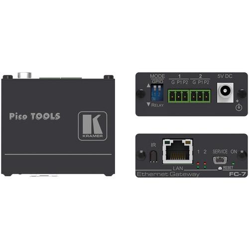 Kramer 2-Port Multi-Function GPIO/Relay Control Gateway