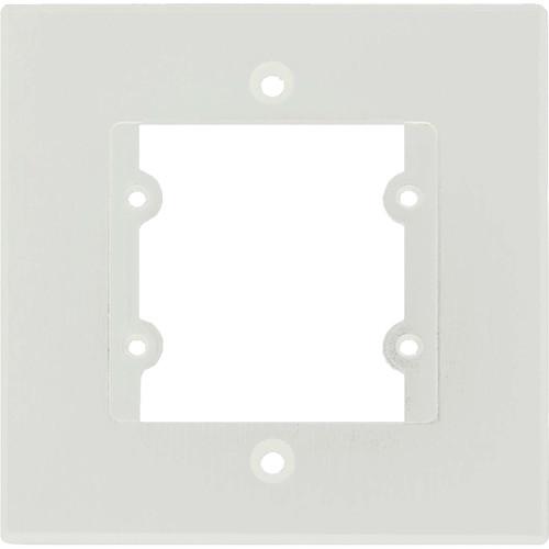 Kramer FRAME-1G Three-Insert Frame for Single-Gang Wall Plate Inserts (White)