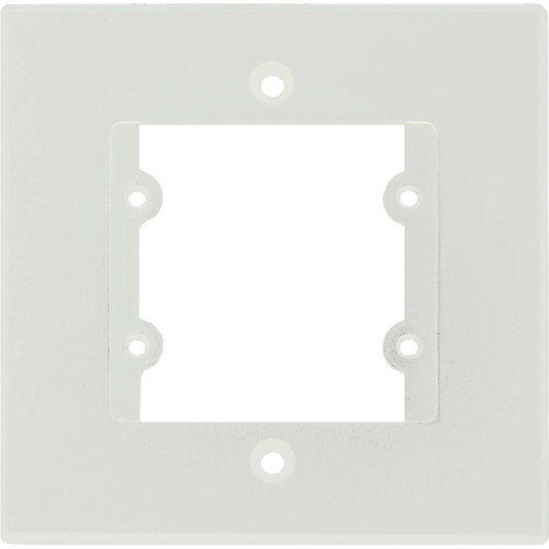 Kramer One-Gang Frame for Wall Plate Insert (White)