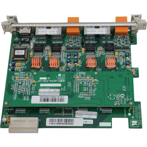 Kramer 4-Output HDMI over HDBaseT Card for VS-3232DN Switcher (F-32)