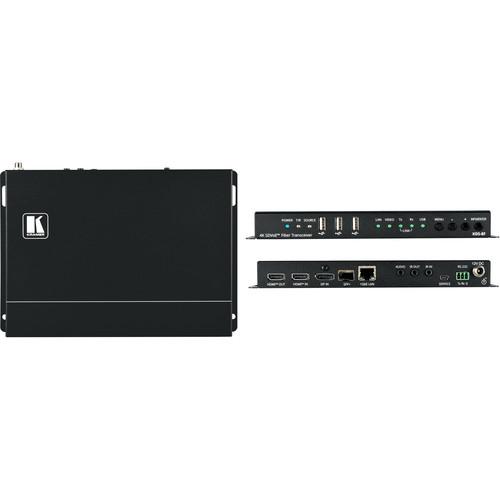 Kramer Zero Latency 4K HDR SDVoE Video Streaming Transceiver over Fiber Optic