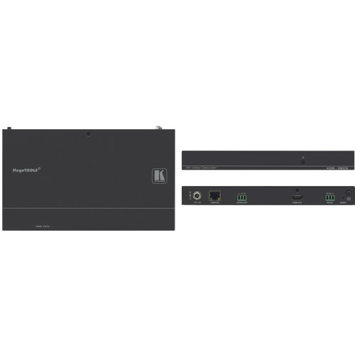 Kramer 4K60 4:2:0 H.264 Video Decoder with PoE and Video Wall Support