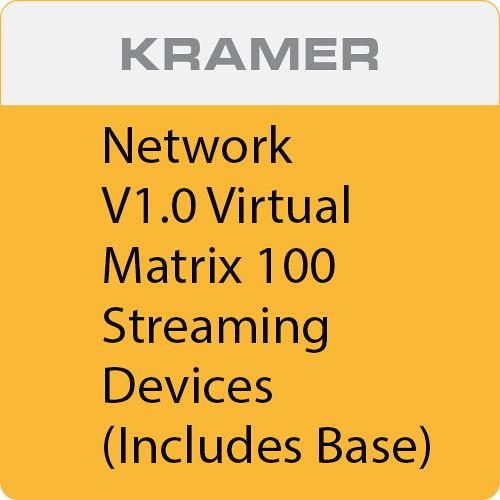 Kramer Network V1.0 Virtual Matrix 100 Streaming Devices (Includes Base)