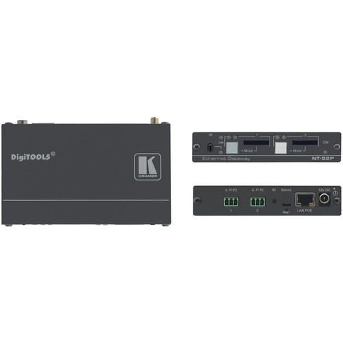 Kramer 2-Port Universal I/O PoE Control Gateway