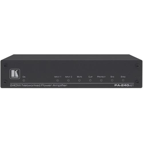 Kramer PA-240Net 240W Networked Power Amplifier