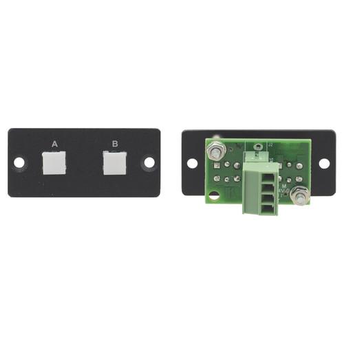 Kramer 2-Button RS-232 Controller (Gray)
