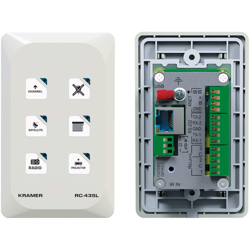 Kramer 6-Button Touch-Sensitive Ethernet Control Keypad (US Model)