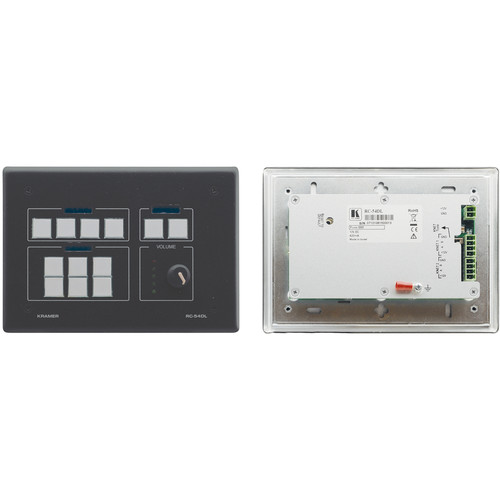 Kramer 12-Button K-NET Auxiliary Control Panel (Gray)